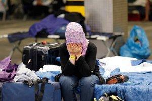 Семья сирийцев покинула Шереметьево спустя 2 месяца жизни на чемоданах