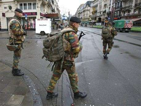 Бельгийцы негодуют: Брюссель стал похож на военную базу
