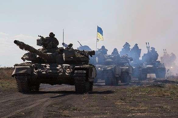 Укро-Хунта стягивает к границам ДНР «Грады» и танки