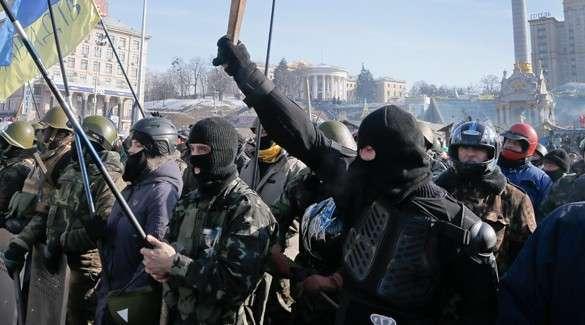 В Киеве новый Майдан? На площади Независимости опять бунтуют