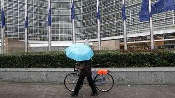 Штаб-квартира Еврокомиссии в Брюсселе, Бельгия. Архивное фото