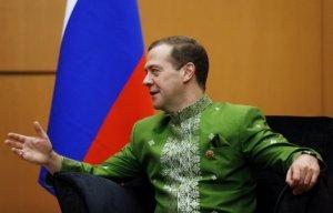 Дмитрий Медведев совершает визит в королевство Камбоджа