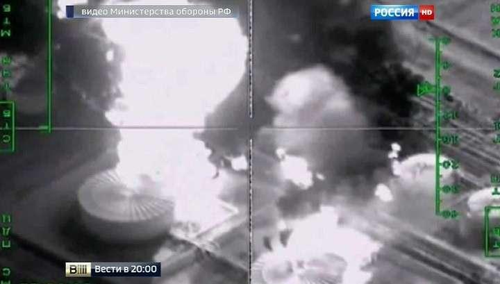 Американский телеканал выдал видео ударов ВКС в Сирии за действия авиации США