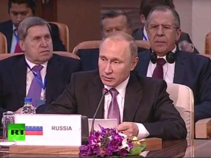 Владимир Путин выступает на заседании Форума стран-экспортёров газа — прямая трансляция
