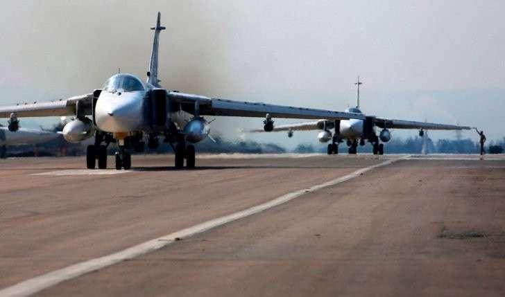 ВКС РФ за 2 дня нанесли удары по 472 объектам боевиков в 8 провинциях Сирии