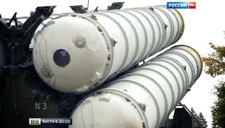 Российский зенитный комплекс С-400 развёрнут в Сирии