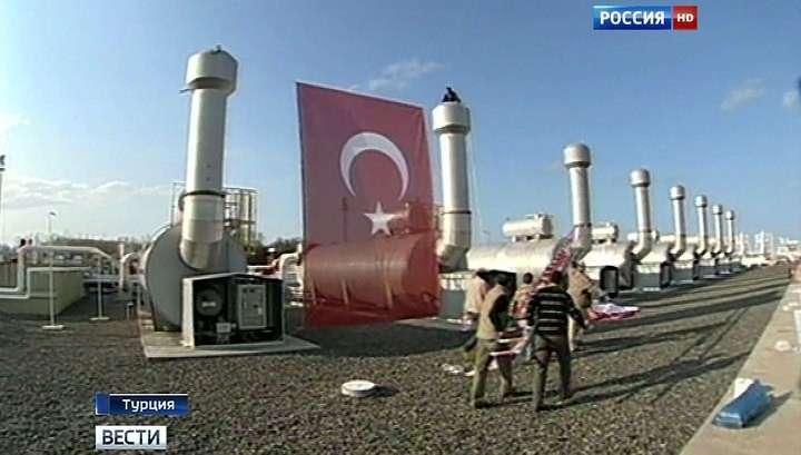 Россия готова остановить строительство «Турецкого потока»