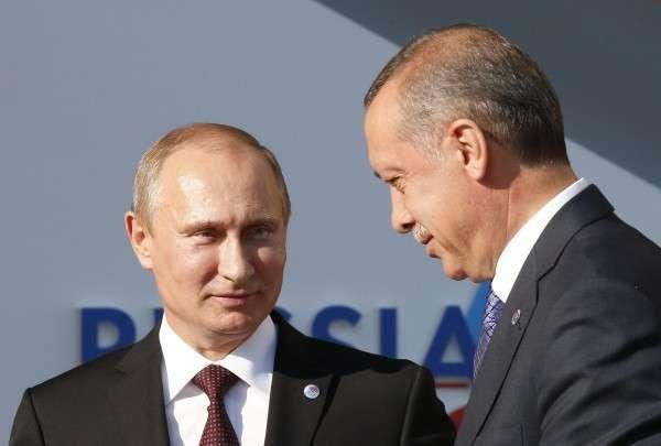 Владимир Путин не ответил на звонок Эрдогана