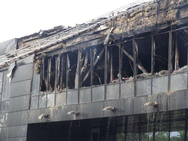 Украина, Донецк: тяжёлое утро