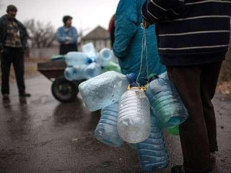 Киевская Хунта перекрывает подачу воды в Луганск