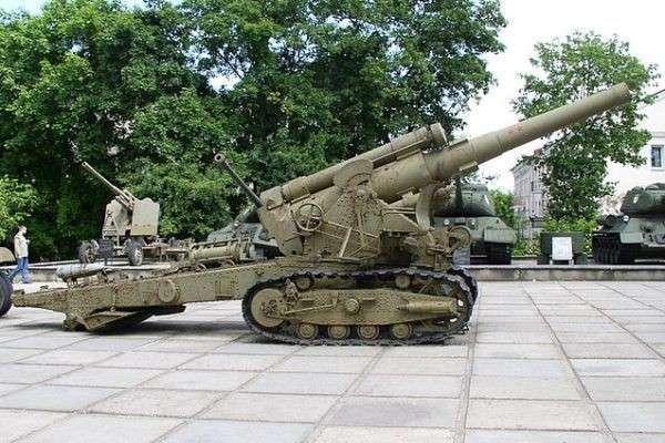 Украина вооружилась антикварными пушками
