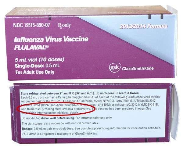 Вакцины против гриппа - это смертельная диверсия