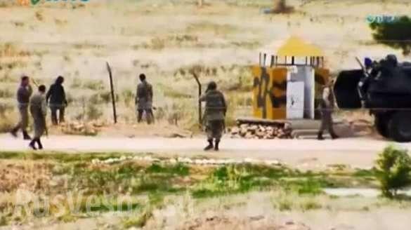 О тёплой дружбе ИГИЛ и турецких пограничников