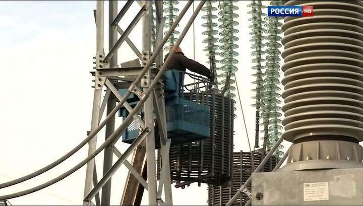Крым готов к запуску энергомоста