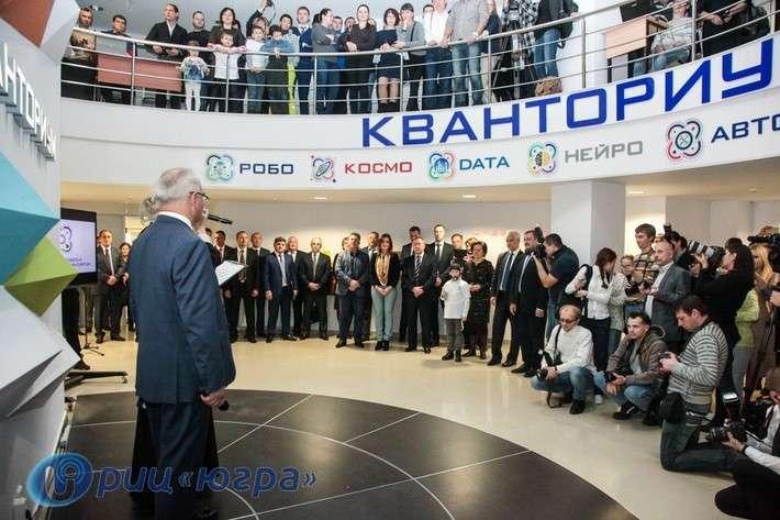Первые детские технопарки России открылись в Югре