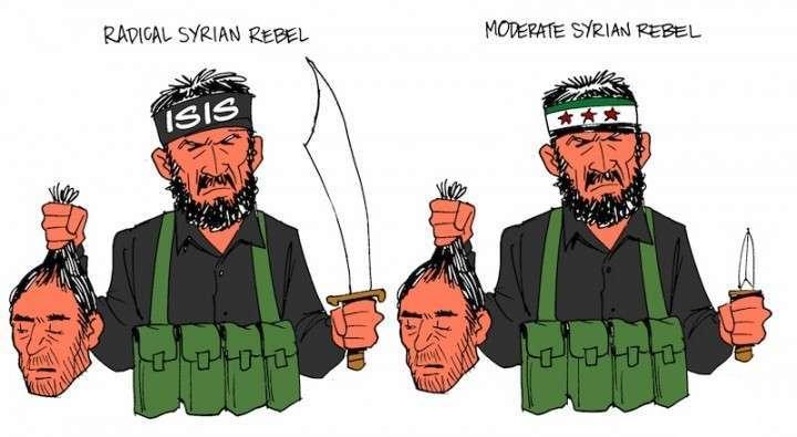 Бандиты из ЕС фантазируют про «умеренных» террористов