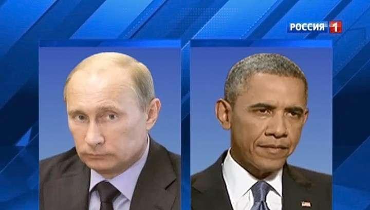 Владимир Путин и Обама полчаса беседовали за закрытыми дверями