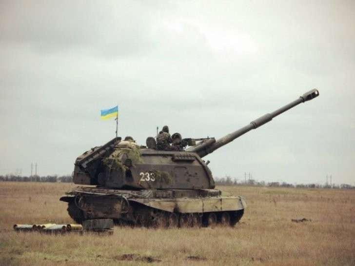 Украинские террористы сконцентрировали вокруг Донбасса 277 единиц тяжёлой артиллерии