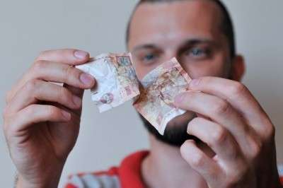 Доля гривны в бюджете ЛНР сократилась  до менее  1%