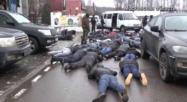 53 криминальных авторитета задержаны во время «сходки» в Подмосковье