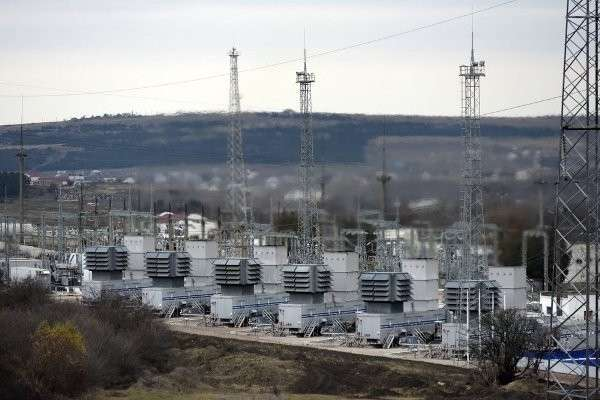 Энергомост Кубань-Крым заработал в тестовом режиме