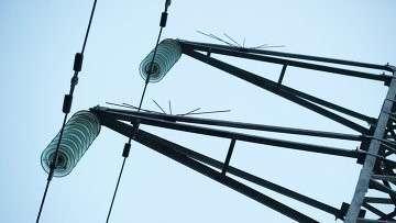 Высоковольтные линии электропередачи в Симферополе, архивное фото