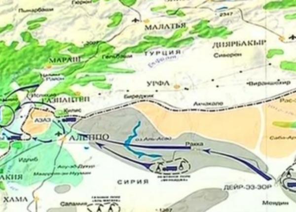 Маршруты транспортировки нефти ДАИШ в Турцию