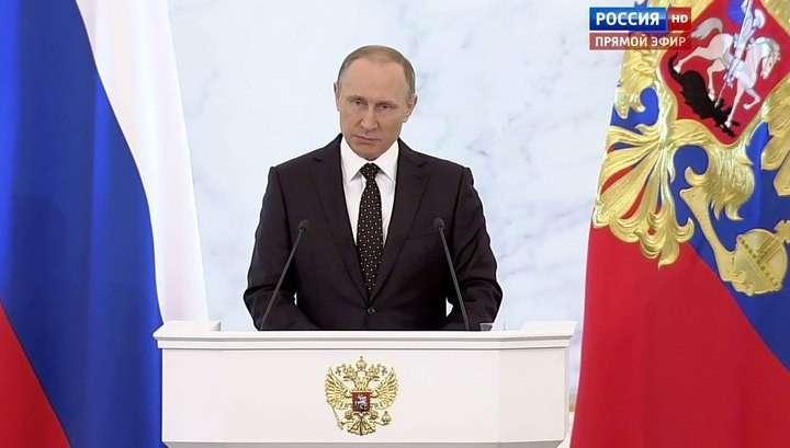 Владимир Путин о сбитом Су-24: Аллах решил наказать власти Турции, лишив их рассудка
