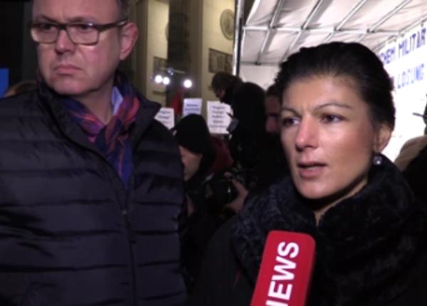 В бундестаге агитируют против участия ФРГ в операции в Сирии