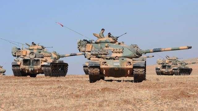 Турки вторглись в Сирию и захватили первые территории