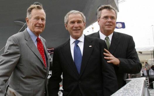 Семейство Буш: из банкиров Гитлера в президенты США