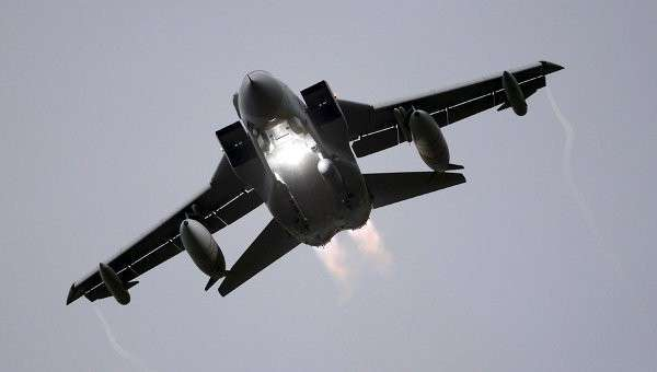 Истребитель Торнадо Королевских ВВС Великобритании