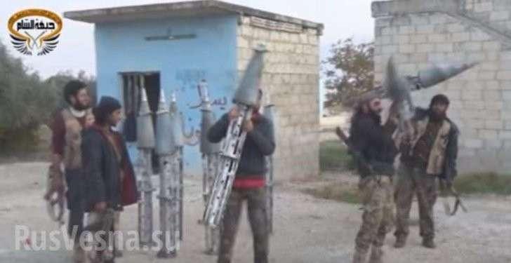 Террористы в Сирии жалуются на российские «Ураганы» и благодарят Турцию за помощь