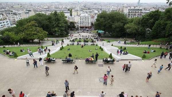 Париж, Франция. Архивное фото