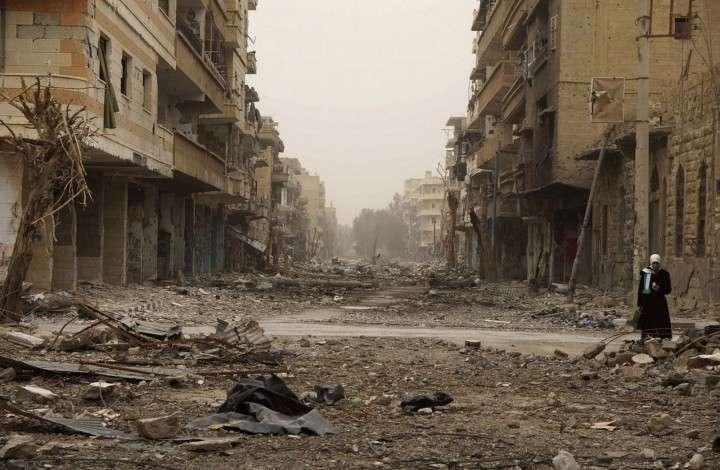 Западная коалиция нанесла авиаудар по сирийской армии