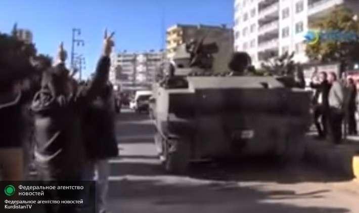 Турецкая армия бежит из восточной Турции от наступающих курдов