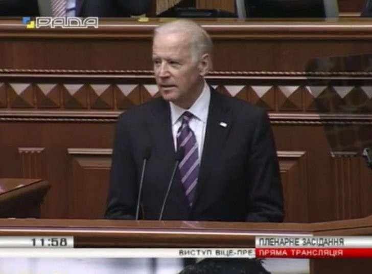 Клоун Клоун Байден евроукрам: стоять против России насмерть, за вами - Вашингтон