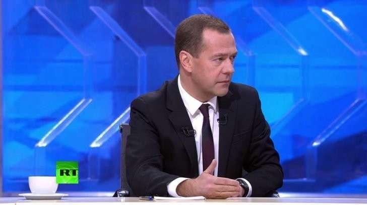 Дмитрий Медведев подводит итоги года — прямая трансляция