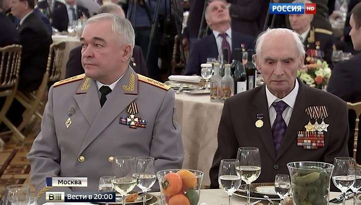 В Кремле устроили торжественный приём в честь Героев России