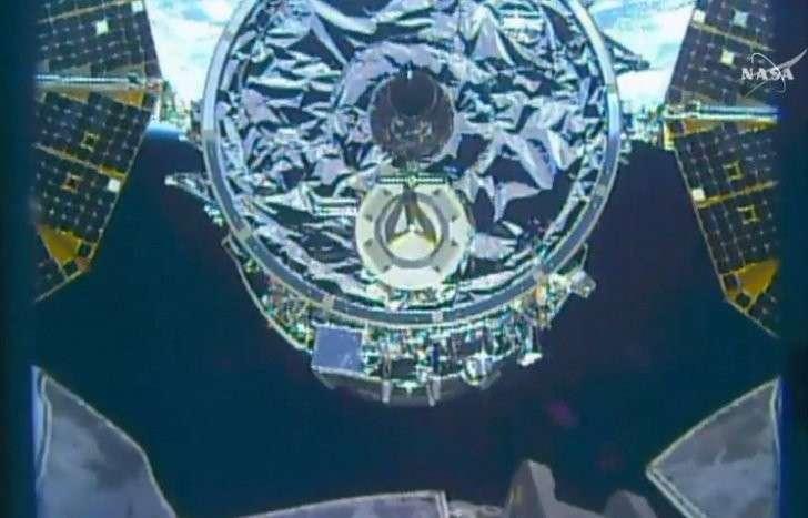 Американский космический грузовик Cygnus пристыковался к МКС