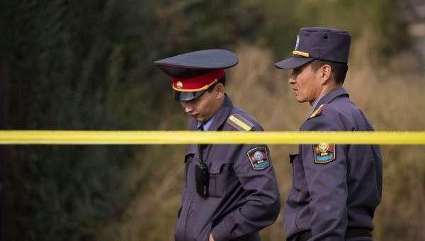 Операция правоохранительных органов Киргизии в Бишкеке. Архивное фото