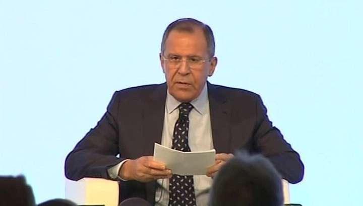 Сергей Лавров уверен, что использование террористов в политических целях - это ошибка