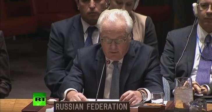 Выступление Виталия Чуркина на заседании Совбеза ООН по Украине