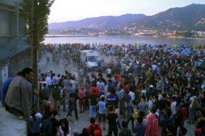 Мигранты разгромили олимпийский стадион в Афинах