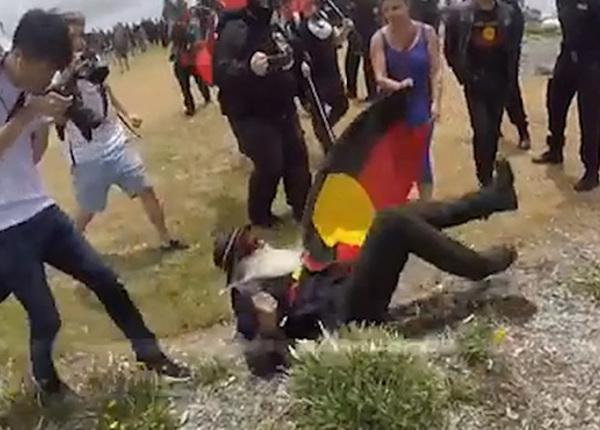 Столкновения между антиисламистами и антирасистами в Австралии