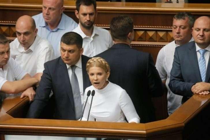 Николай Азаров: у Тимошенко раздвоение личности