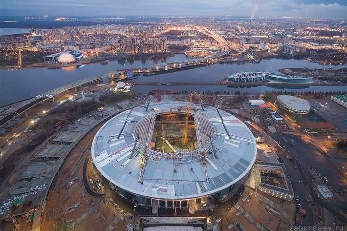 Строительство стадиона для ФК «Зенит»