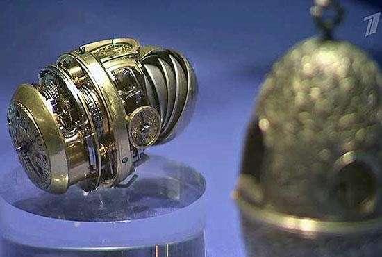 В Эрмитаже выставили шедевры микромеханики XVII-XVIII веков