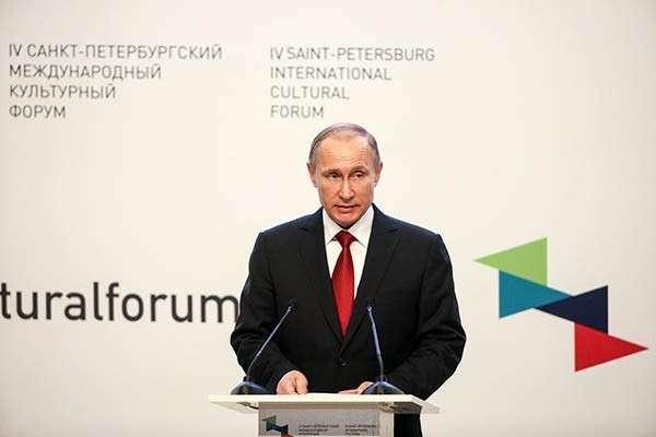 Путин призвал мир объединится в борьбе с незаконной торговлей ценностями