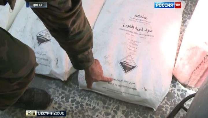 Боевики ИГ получали компоненты химоружия из Турции